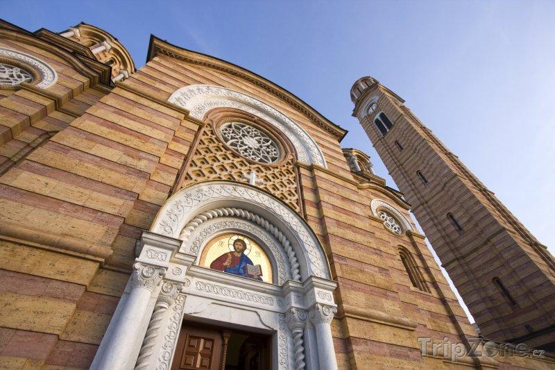 Fotka, Foto Kostel Ježíše ve městě Banja Luka (Bosna a Hercegovina)