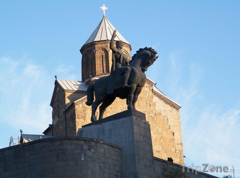 Fotka, Foto Kostel Metekhi (Gruzie)