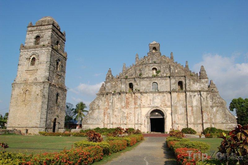 Fotka, Foto Kostel Paoay (Filipíny)