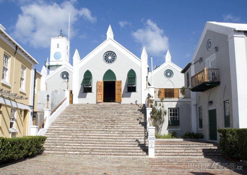 Fotka, Foto Kostel St. Peter's v St. George's (Bermudy)