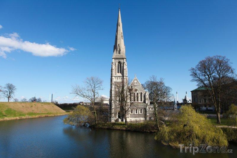 Fotka, Foto Kostel Svatého Albana v Kodani (Dánsko)