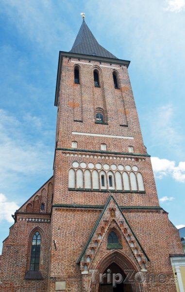 Fotka, Foto Kostel svatého Jana ve městě Tartu (Estonsko)