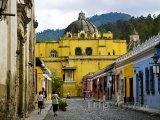Kostel ve městě Antigua Gutaemala