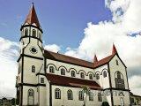 Kostel ve městě Puerto Varas