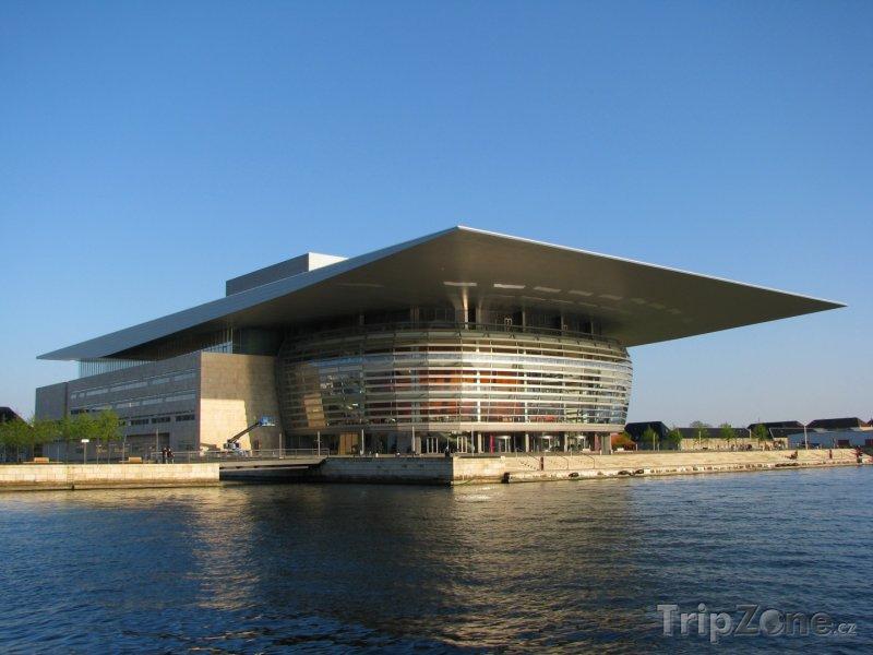 Fotka, Foto Královská opera v Kodani (Dánsko)