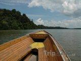 Loď na řece Brunej