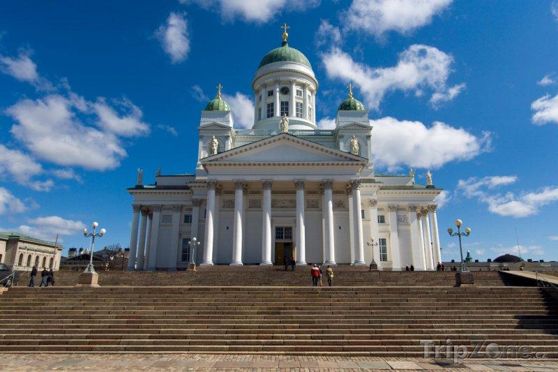 Fotka, Foto Lutheránská katedrála v Helsinkách (Finsko)