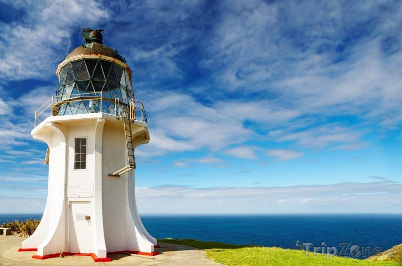 Fotka, Foto Maják Cape Reinga (Nový Zéland)