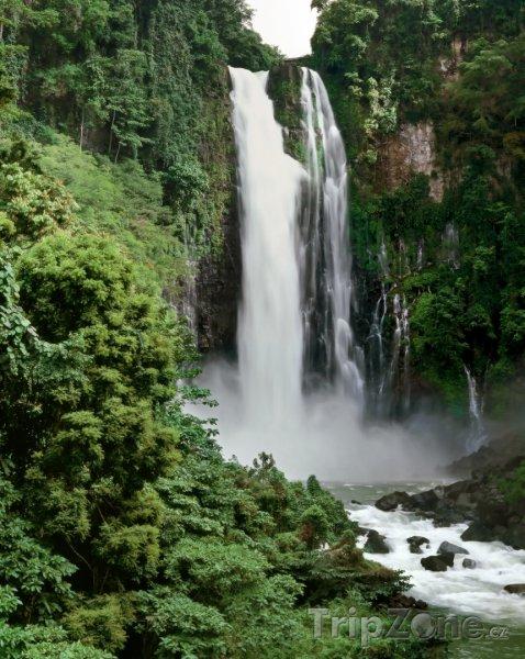 Fotka, Foto Maria Cristina Falls na ostrově Mindanao (Filipíny)