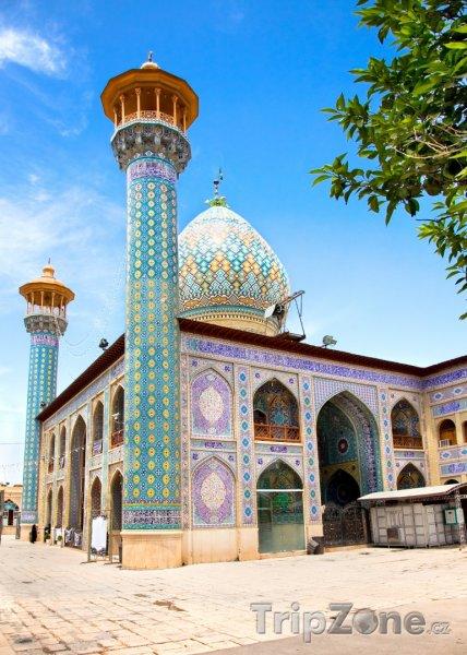 Fotka, Foto Mauzoleum v Širázu (Írán)