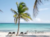 Mayská riviéra, pláž
