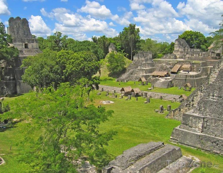 Fotka, Foto Mayské město Tikal (Guatemala)