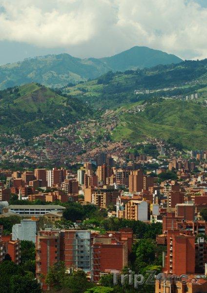 Fotka, Foto Medellín panorama (Kolumbie)