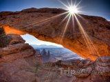 Mesa Arch v Utahu