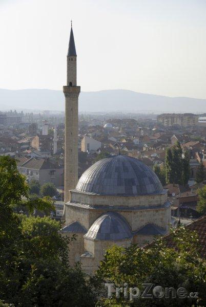 Fotka, Foto Mešita Sinan Pasha ve městě Prizren (Kosovo)