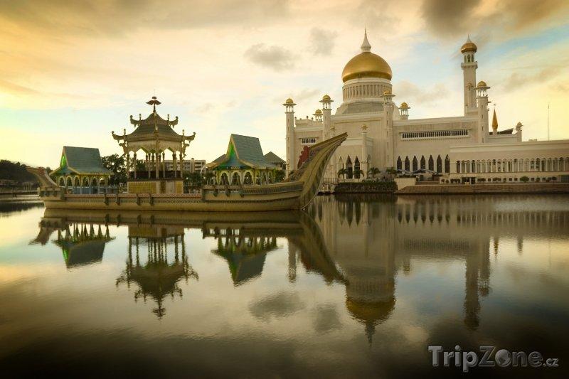 Fotka, Foto Mešita v Bandar Seri Begawanu (Brunej)