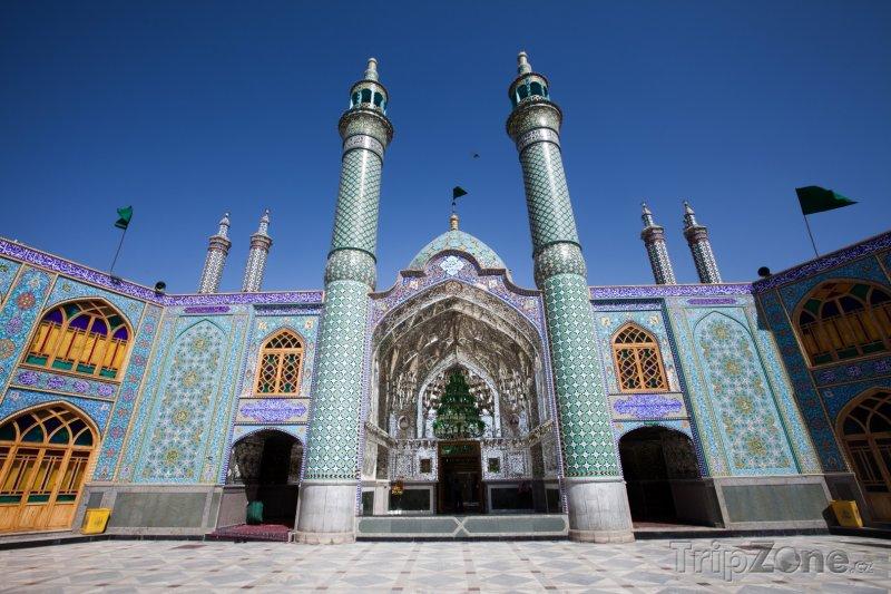Fotka, Foto Mešita ve městě Aran o Bigdol (Írán)