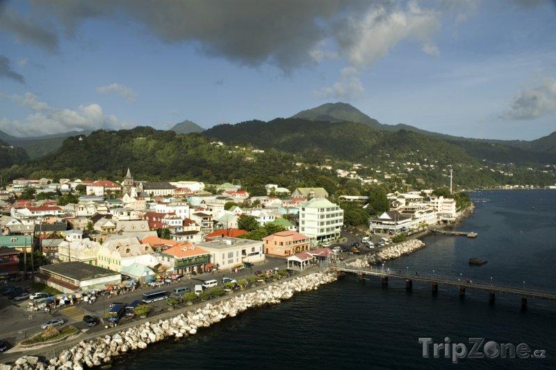 Fotka, Foto Město Roseau (Dominika)