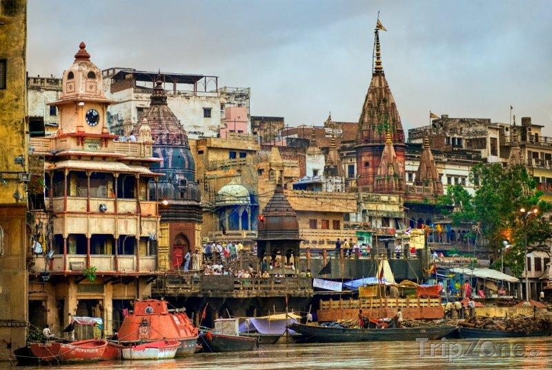 Fotka, Foto Město Váránasí (Indie)