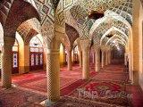 Modlitebna v Růžové mešitě v Širázu