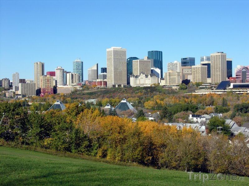 Fotka, Foto Mrakodrapy v Edmontonu (Kanada)