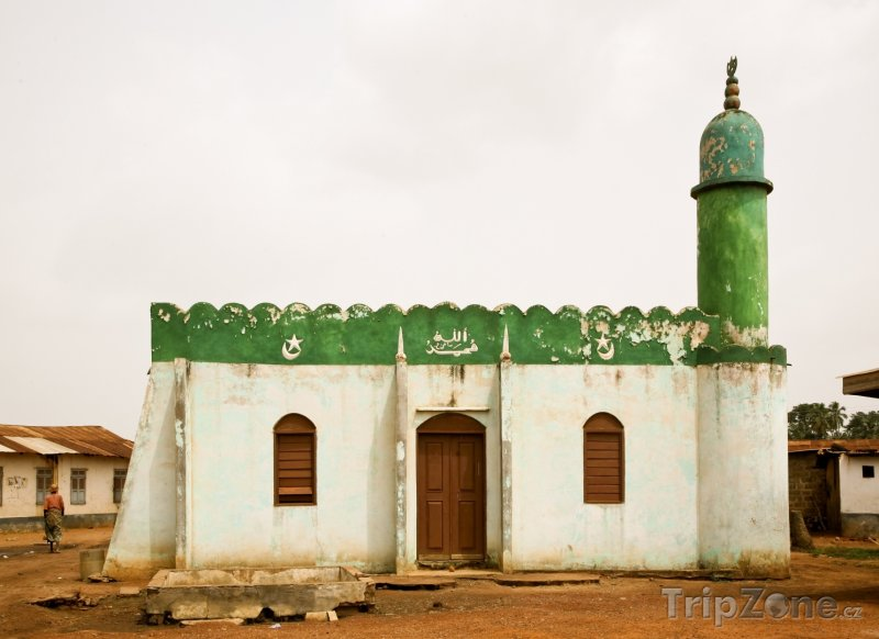 Fotka, Foto Muslimská mešita (Ghana)