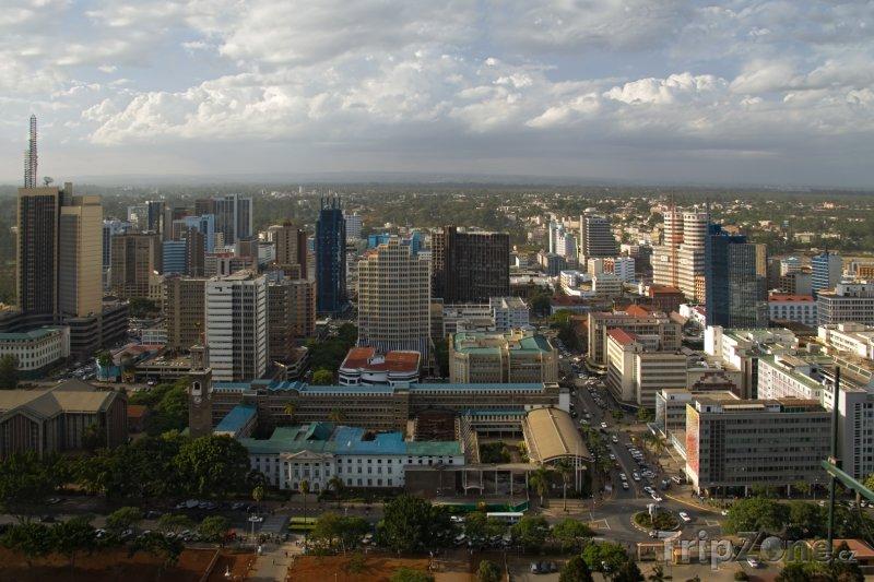 Fotka, Foto Nairobi panorama (Keňa)