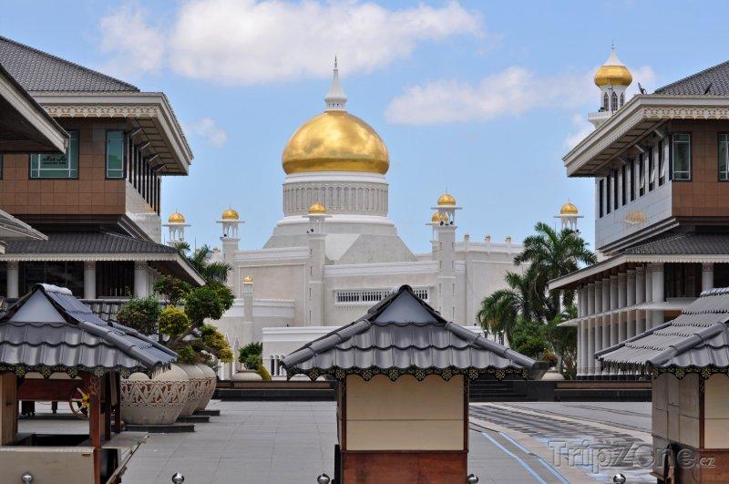 Fotka, Foto Náměstí v Bandar Seri Begawanu (Brunej)
