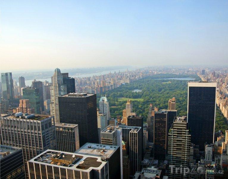 Fotka, Foto New York, pohled na Central Park (USA)