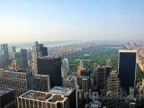 New York, pohled na Central Park