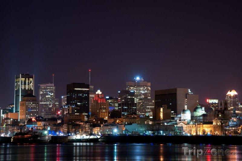 Fotka, Foto Noční Montreal (Kanada)