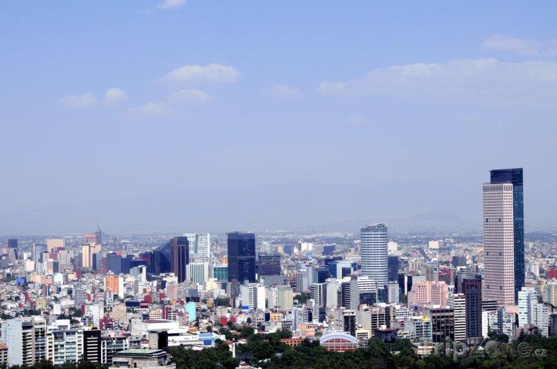 Fotka, Foto Obchodní část Mexiko City (Mexiko)