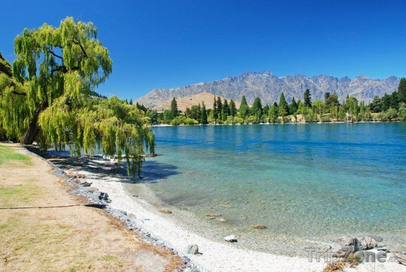 Fotka, Foto Otago, jezero Wakatipu (Nový Zéland)