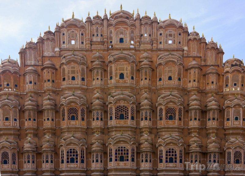Fotka, Foto Palác Hawa Mahal v Džajpuru (Indie)