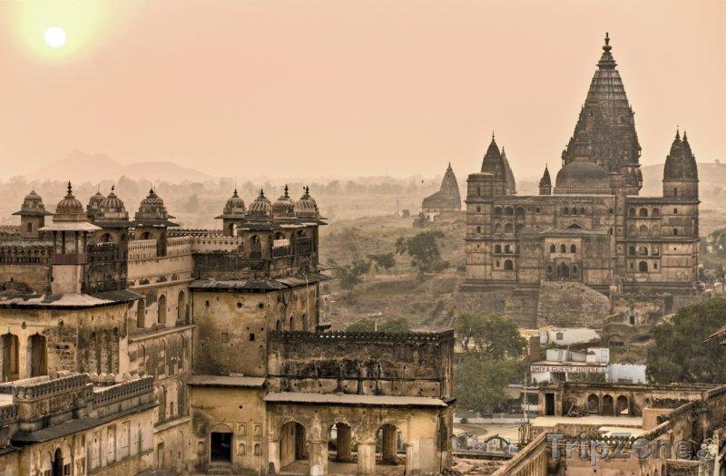 Fotka, Foto Paláce ve městě Orchha (Indie)