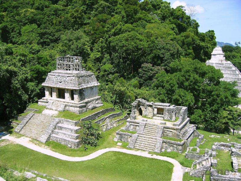 Fotka, Foto Palenque, mayské chrámy (Mexiko)