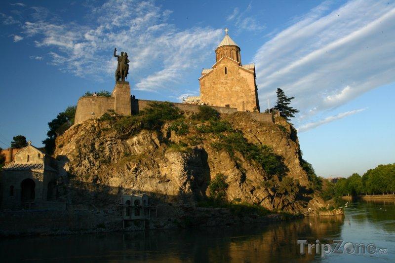 Fotka, Foto Památník na okraji Tbilisi (Gruzie)