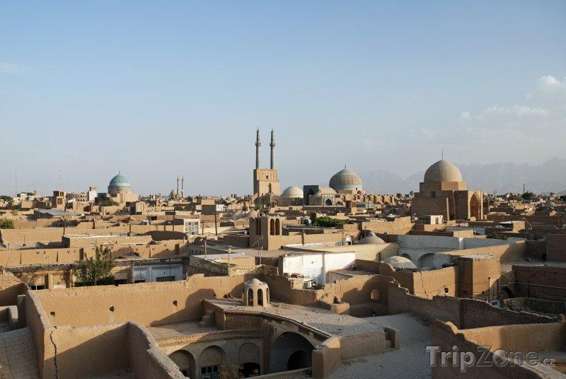 Fotka, Foto Panorama města Jazd (Írán)