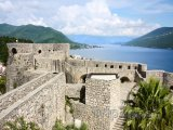 Pevnost Gorni grad ve městě Herceg Novi