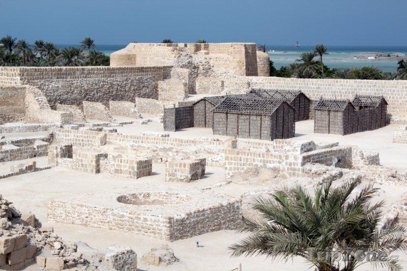 Fotka, Foto Pevnost poblíž města Manáma (Bahrajn)