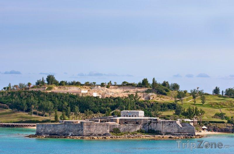 Fotka, Foto Pevnost St. Catherine (Bermudy)