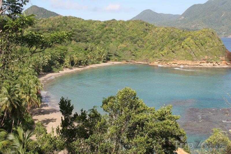 Fotka, Foto Pláž Batibou (Dominika)