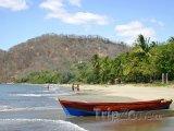 Pláž Hermosa v provincii Guanacaste