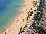 Pláž Playa de Las Teresitas na Tenerife