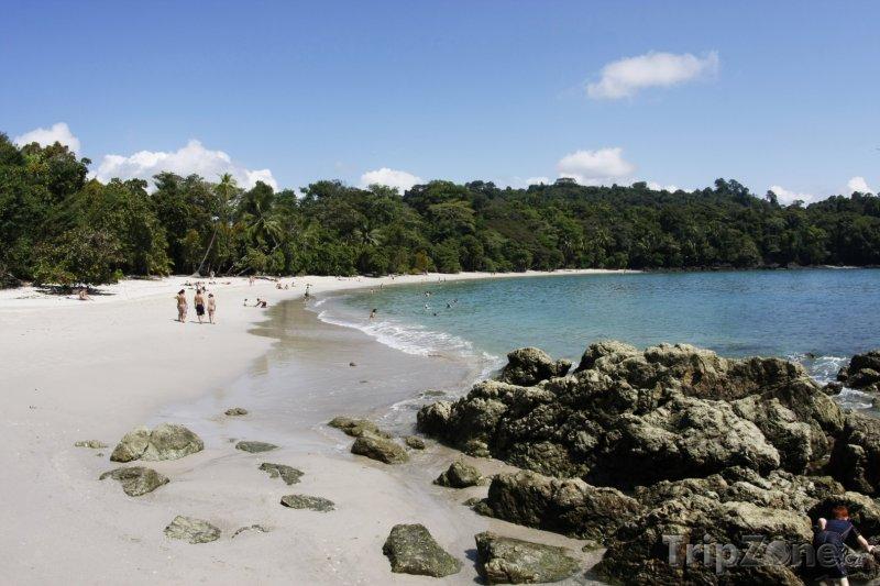 Fotka, Foto Pláž v národním parku Manuel Antonio (Kostarika)