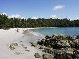 Pláž v národním parku Manuel Antonio