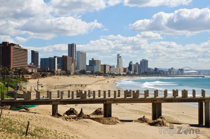 Fotka, Foto Pláž ve městě Durban (Jihoafrická republika)