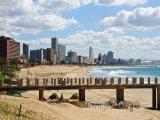 Pláž ve městě Durban