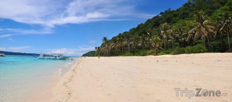 Fotka, Foto Pobřeží ostrova Boracay (Filipíny)