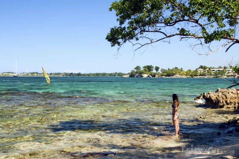 Fotka, Foto Pobřeží u města Negril (Jamajka)